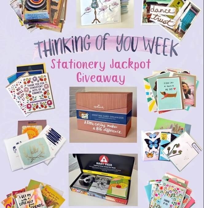 Thinking of You Week Jackpot Giveaway!